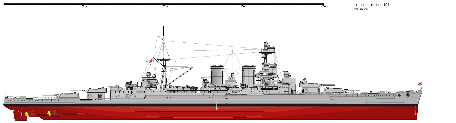 HMS Hood  Heller au 1/400 - Page 2 HMSHood1941-1
