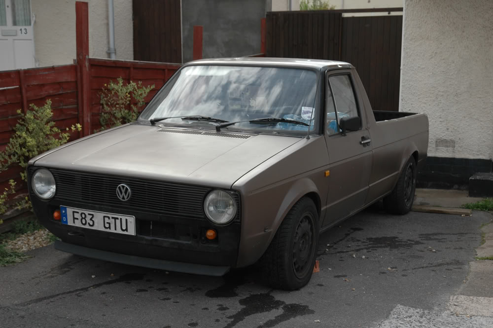 My 1989 VW Mk1 Caddy BEFORE1