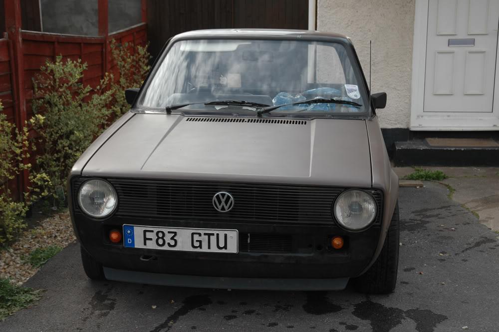 My Mk1 Caddy so far... BEFORE2