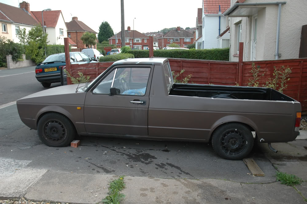 My 1989 VW Mk1 Caddy BEFORE3