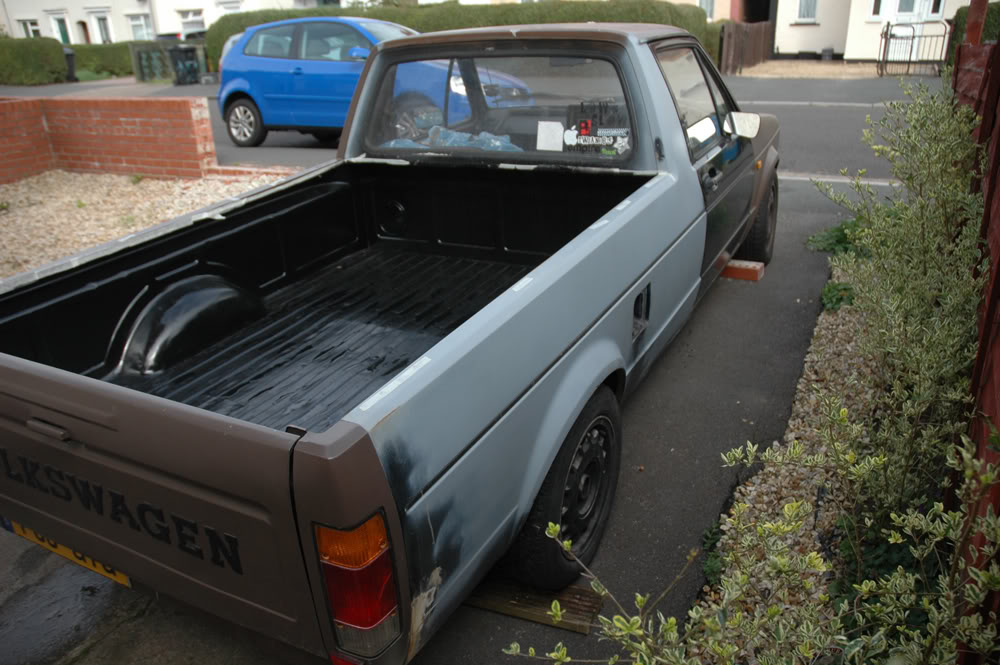 My 1989 VW Mk1 Caddy BEFORE5