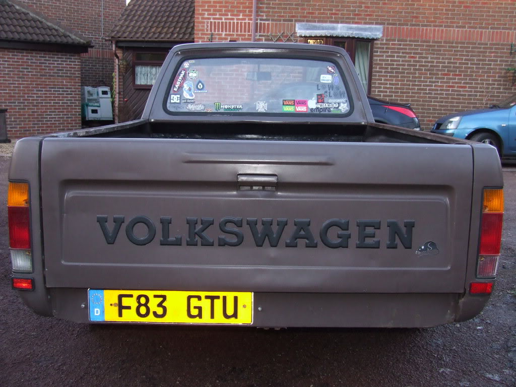 My 1989 VW Mk1 Caddy DSCF0680