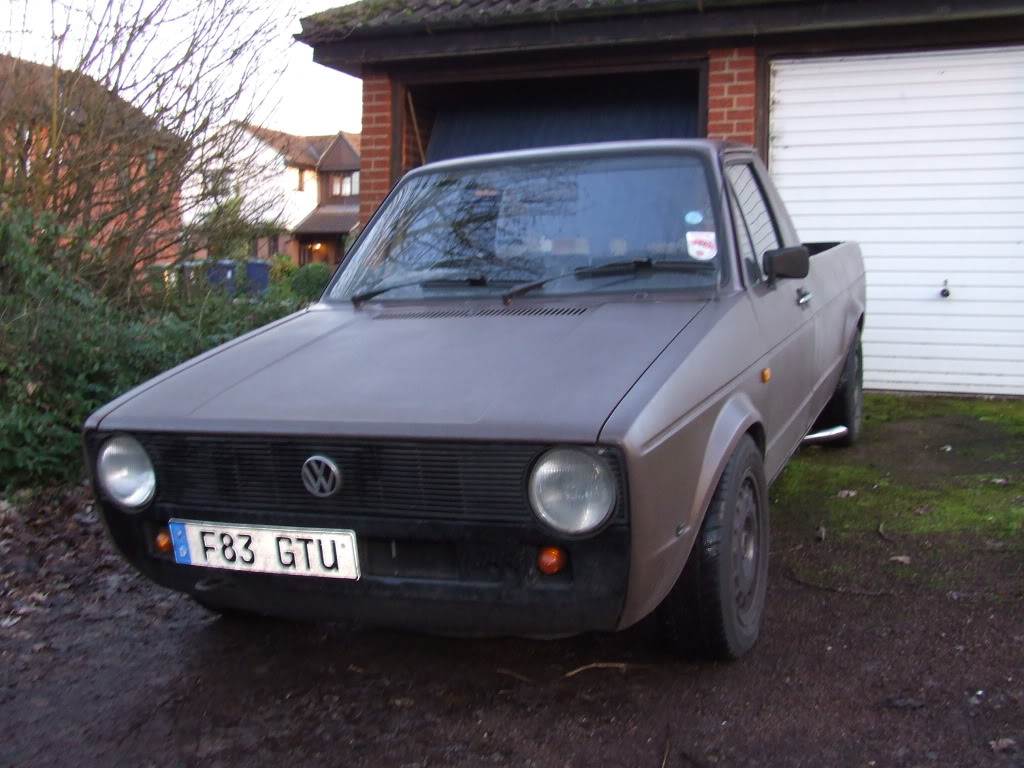 My 1989 VW Mk1 Caddy DSCF0686