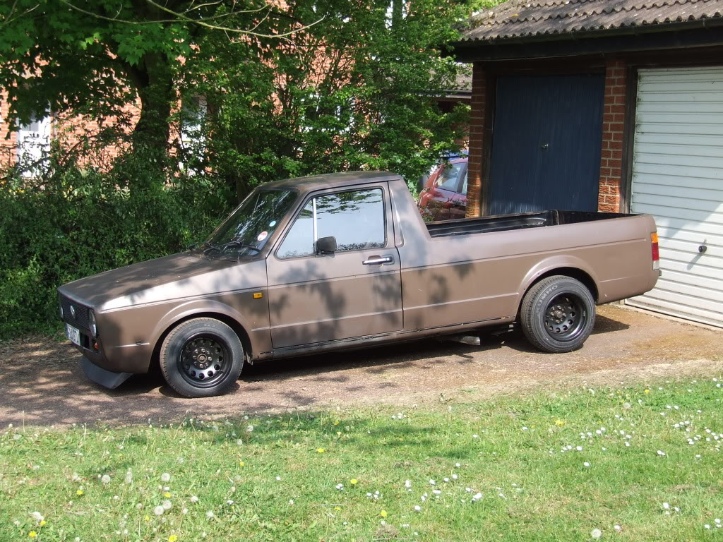 My 1989 VW Mk1 Caddy DSCF0699