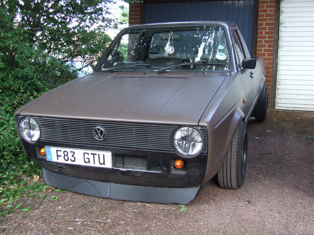 My 1989 VW Mk1 Caddy DSCF1317