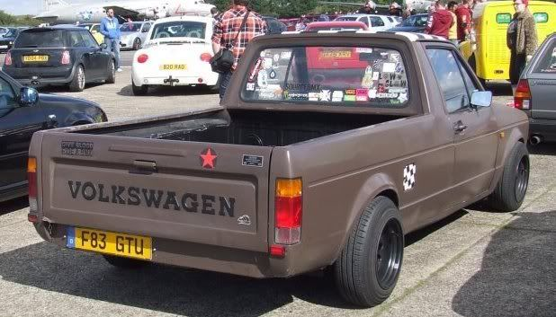 My 1989 VW Mk1 Caddy Backkk