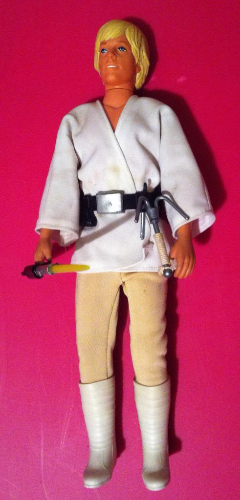 Luke Skywalker Vintage Kenner 12 inch detailed analysis for reference IMG_0656