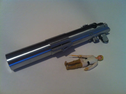 The best lightsaber! The Graflex! an awesome collectible! IMG_2427_zps317e8ef3