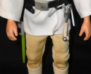 """Did Luke 12"""" have different colored lightsabers? Lukegreen"""