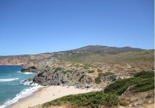 Hardscape - Areia, pedras e troncos no guincho. Abano3