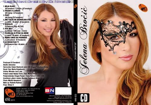 Narodna - Zabavna Muzika 2011 CD-JELENA-BROCIC-OMOT