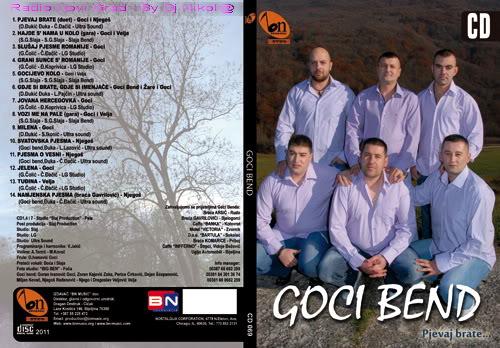 Goci Bend -Kolekcija GOCI-BEND-CD