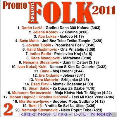 Narodna - Zabavna Muzika 2011 PromoFolkSinglovi2011Kolekcija2-2