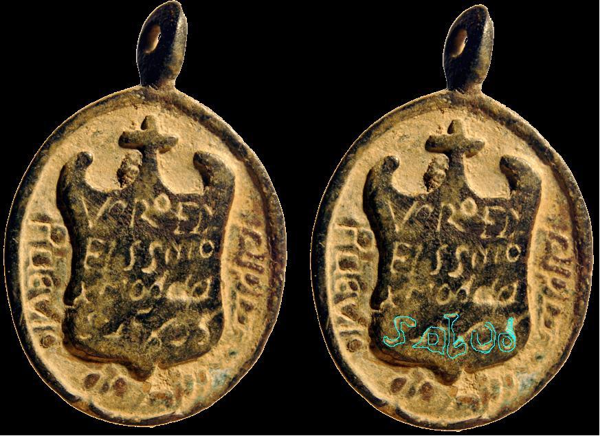 Medalla del Sto. Cristo de la Salud / Inscripción - s. XVII (RM SXVII-O324) Medallacristodelasalud_zpsd73bfb88