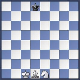 Kỹ thuật chiếu hết bằng tượng và mã trong cờ vua (phần 2) 1-4
