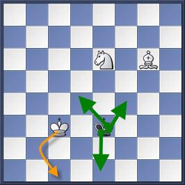 Kỹ thuật chiếu hết bằng tượng và mã trong cờ vua (phần 2) 12-2
