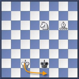 Kỹ thuật chiếu hết bằng tượng và mã trong cờ vua (phần 2) 13-2