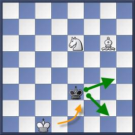 Kỹ thuật chiếu hết bằng tượng và mã trong cờ vua (phần 2) 14-2