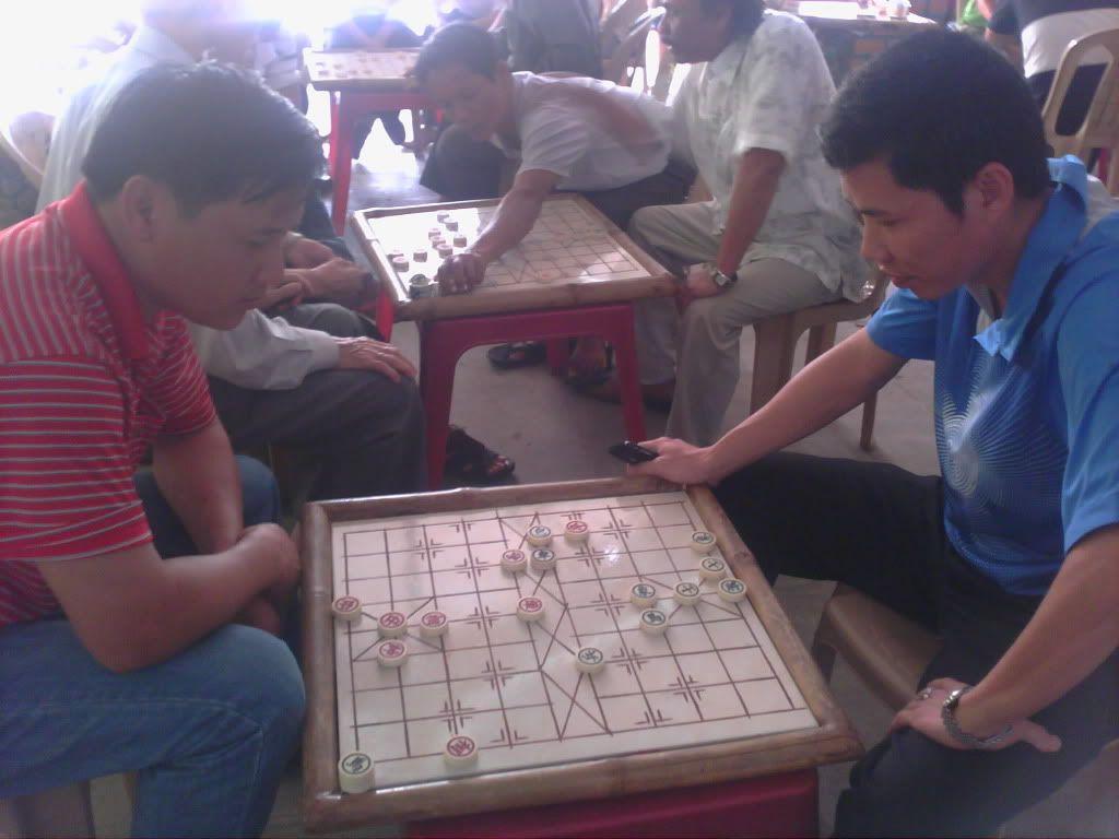 Sân chơi cờ vua, cờ tướng ở Quảng Trị 140412-0945
