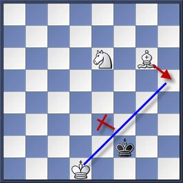 Kỹ thuật chiếu hết bằng tượng và mã trong cờ vua (phần 2) 15-1