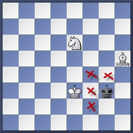 Kỹ thuật chiếu hết bằng tượng và mã trong cờ vua (phần 2) 18