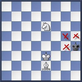 Kỹ thuật chiếu hết bằng tượng và mã trong cờ vua (phần 2) 19