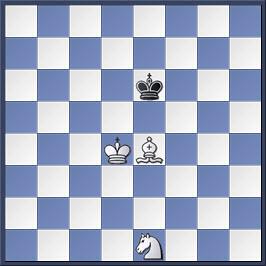 Kỹ thuật chiếu hết bằng tượng và mã trong cờ vua (phần 2) 2-3