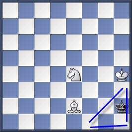 Kỹ thuật chiếu hết bằng tượng và mã trong cờ vua (phần 2) 25