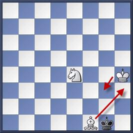 Kỹ thuật chiếu hết bằng tượng và mã trong cờ vua (phần 2) 26