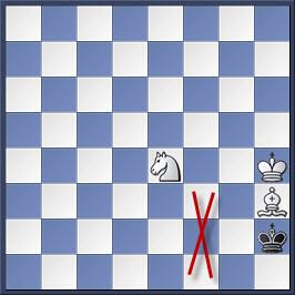 Kỹ thuật chiếu hết bằng tượng và mã trong cờ vua (phần 2) 27