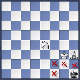 Kỹ thuật chiếu hết bằng tượng và mã trong cờ vua (phần 2) 29