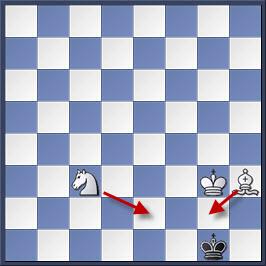 Kỹ thuật chiếu hết bằng tượng và mã trong cờ vua (phần 2) 30