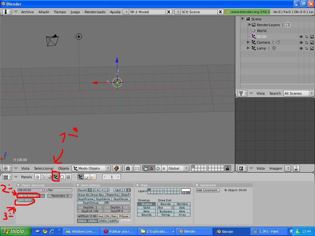 Tutorial Convertir modelos 3d de la galería google 3d a TM 2