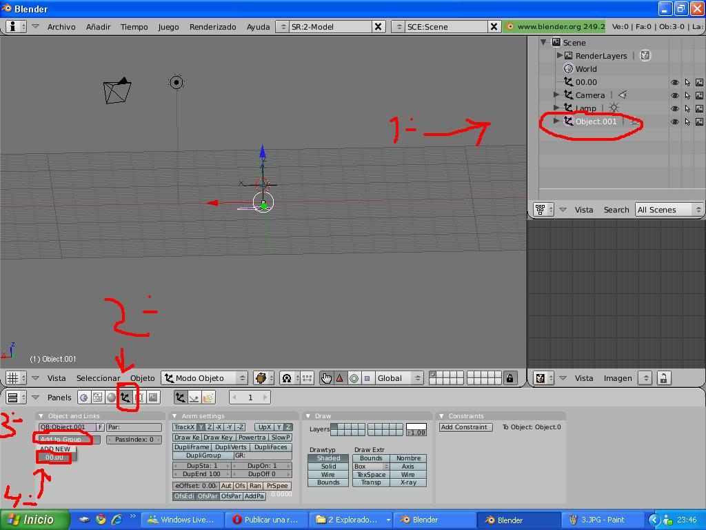 Tutorial Convertir modelos 3d de la galería google 3d a TM 4