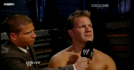 Jericho Backstage Interview J2-2
