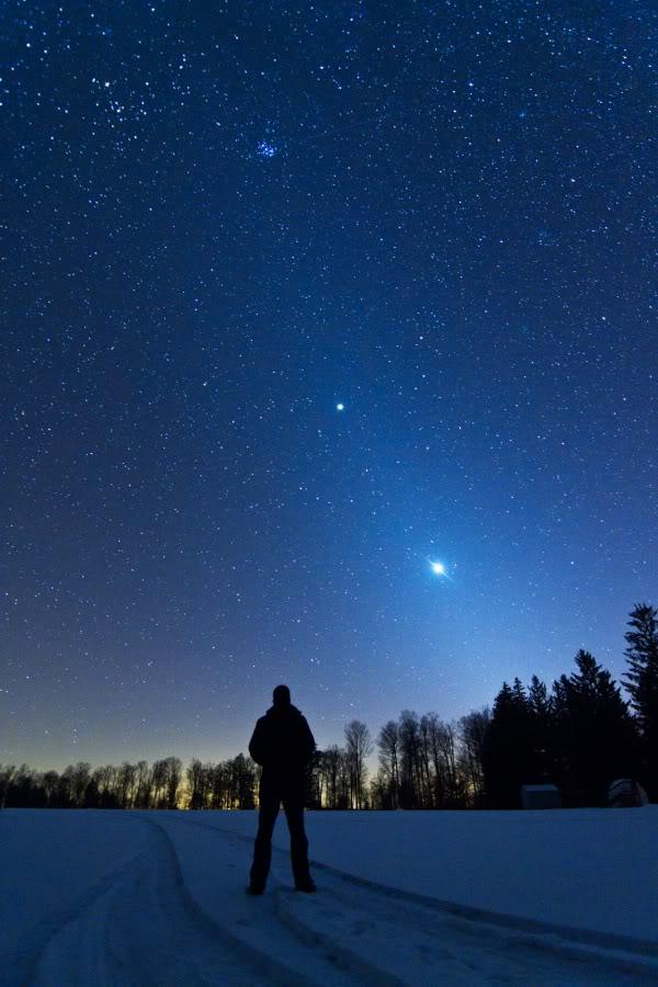 مشهد رائع لكوكبا الزهرة و المشتري... JackFusco_ZodiacalLightPortrait900