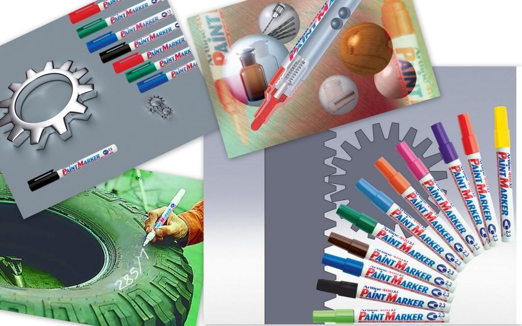 Thư mời hợp tác phân phối sản phẩm Shachihata PaintMarker