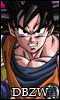 Dragon Ball Z World - Afiliación Normal -  GokuZ60x100