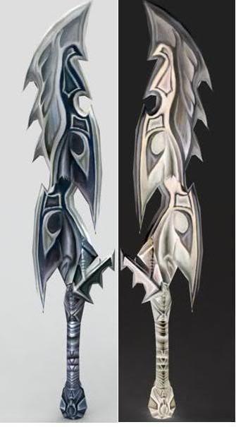 Urufu's Special Sword/Twin Blades Twinblades