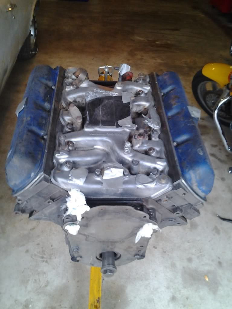 Olds Smog 307 to '71 Rocket 350 Engine Swap - Page 4