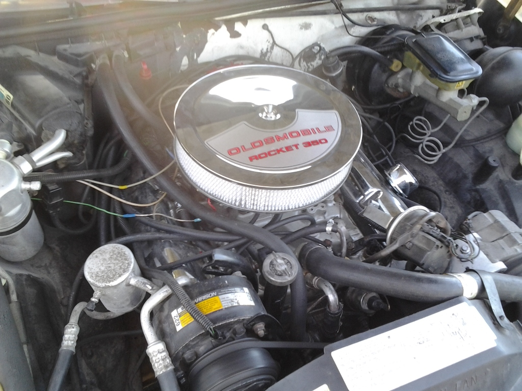 Olds Smog 307 To 71 Rocket 350 Engine Swap Page 5
