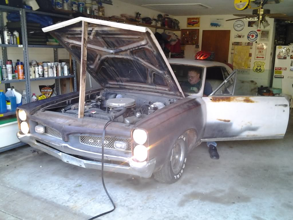 Update on my latest project - 68 GTO Goat2