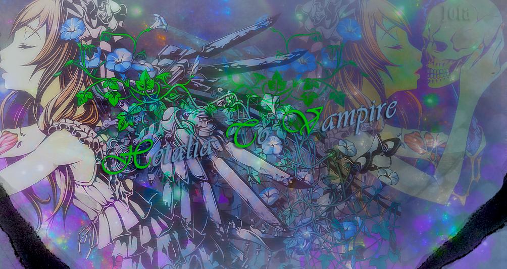 Hetalia + Vampire