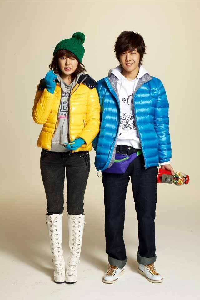 KIM HYUN JOONG & YOON EUN HYE EN COLECCION DE INVIERNO PARA BASIC HOUSE Kimyyoon3