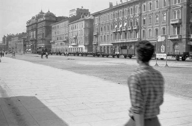 Fotografije iz prošlih vremena Rijekagradpotkraj1950ih