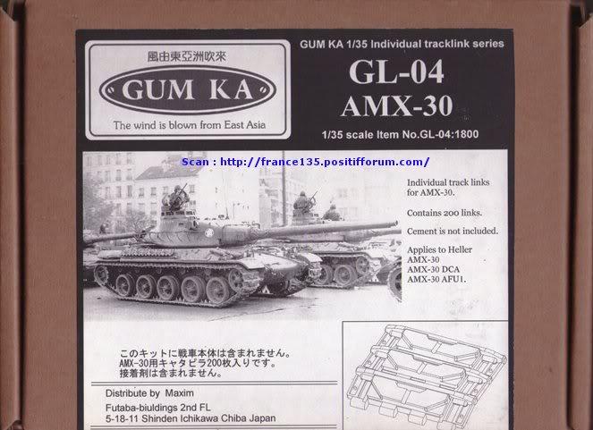 Chenilles AMX 30. Heller, ref 81301. 1/35. Plastique injecté. ChenillesAMX30_GUMKA_REFGL04_0