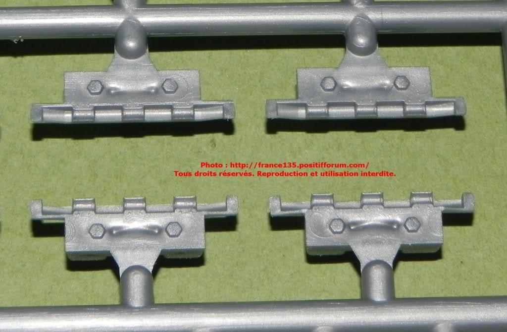 Chenilles AMX 30. Heller, ref 81301. 1/35. Plastique injecté. ChenillesAMX30_HELLER_REF81301_7