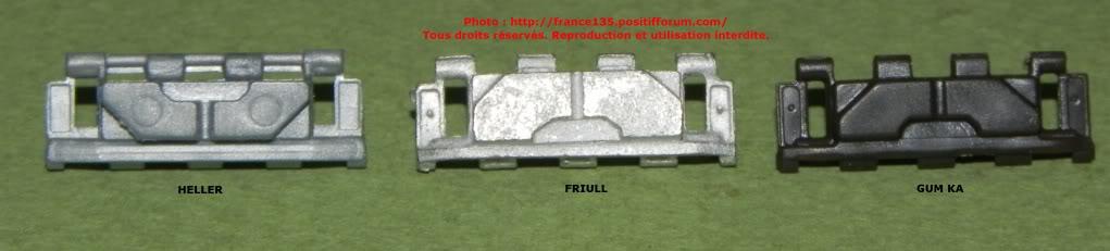 Chenilles AMX 30. Heller, ref 81301. 1/35. Plastique injecté. ChenillesX30_comparatif2