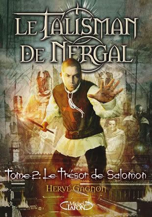 Le talisman de Nergal, Tome 2 : Le trésor de Salomon Nergal_T2