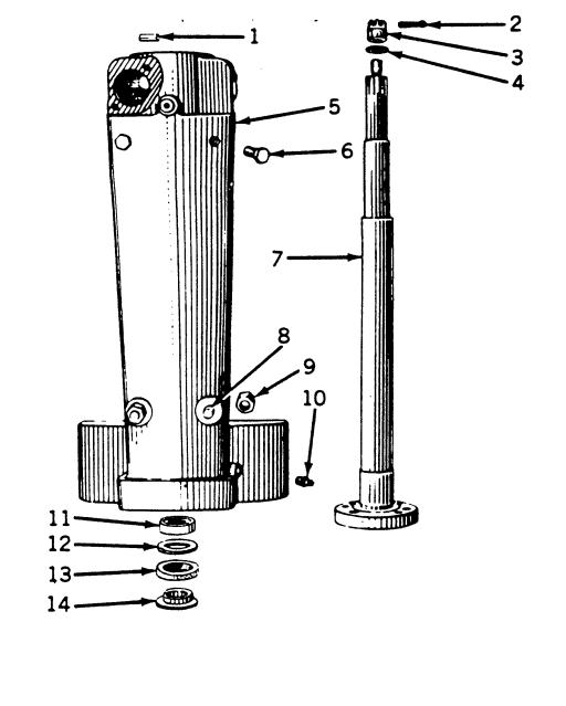 Extraction pignon direction sur JD A Frontachs